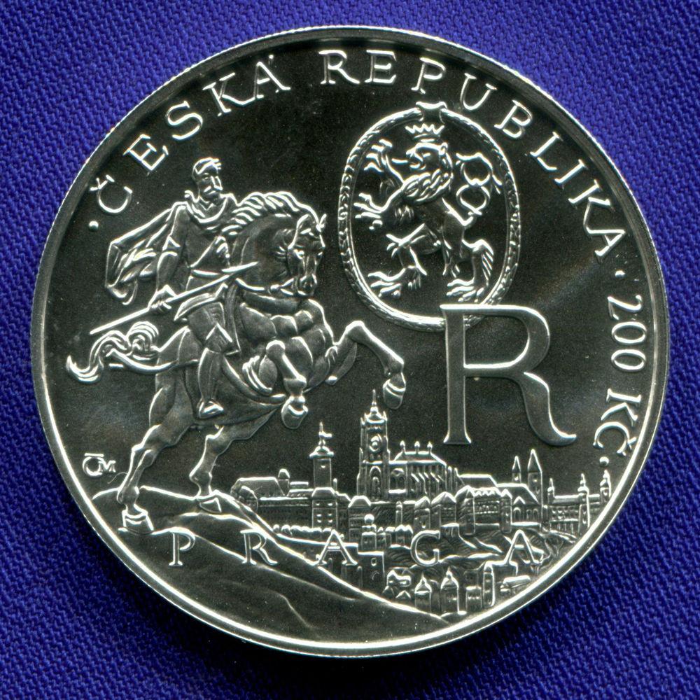 Чехия 200 крон 2012 UNC Рудольф II  - 1