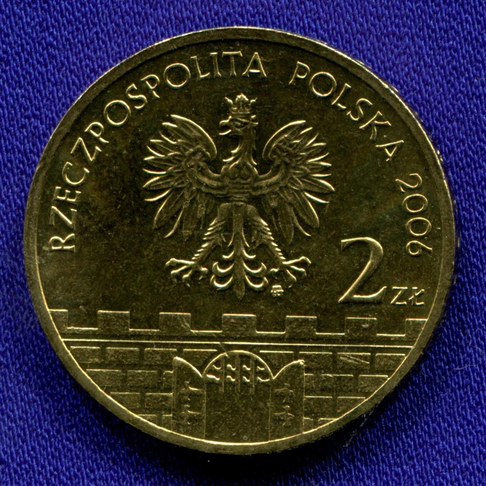 Польша 2 злотых 2006 UNC Сандомир - 1