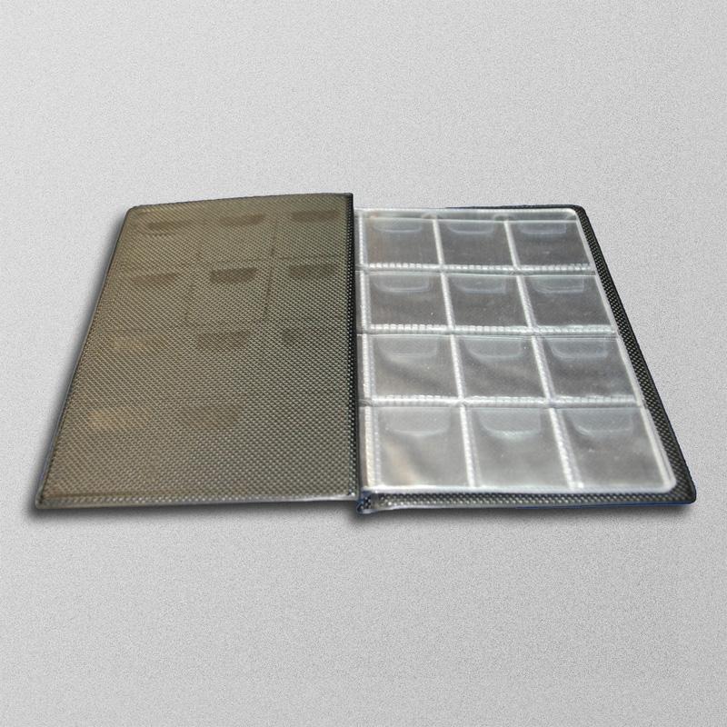 Альбом на 96 монет. содержит 8 комбинированных листов - 1