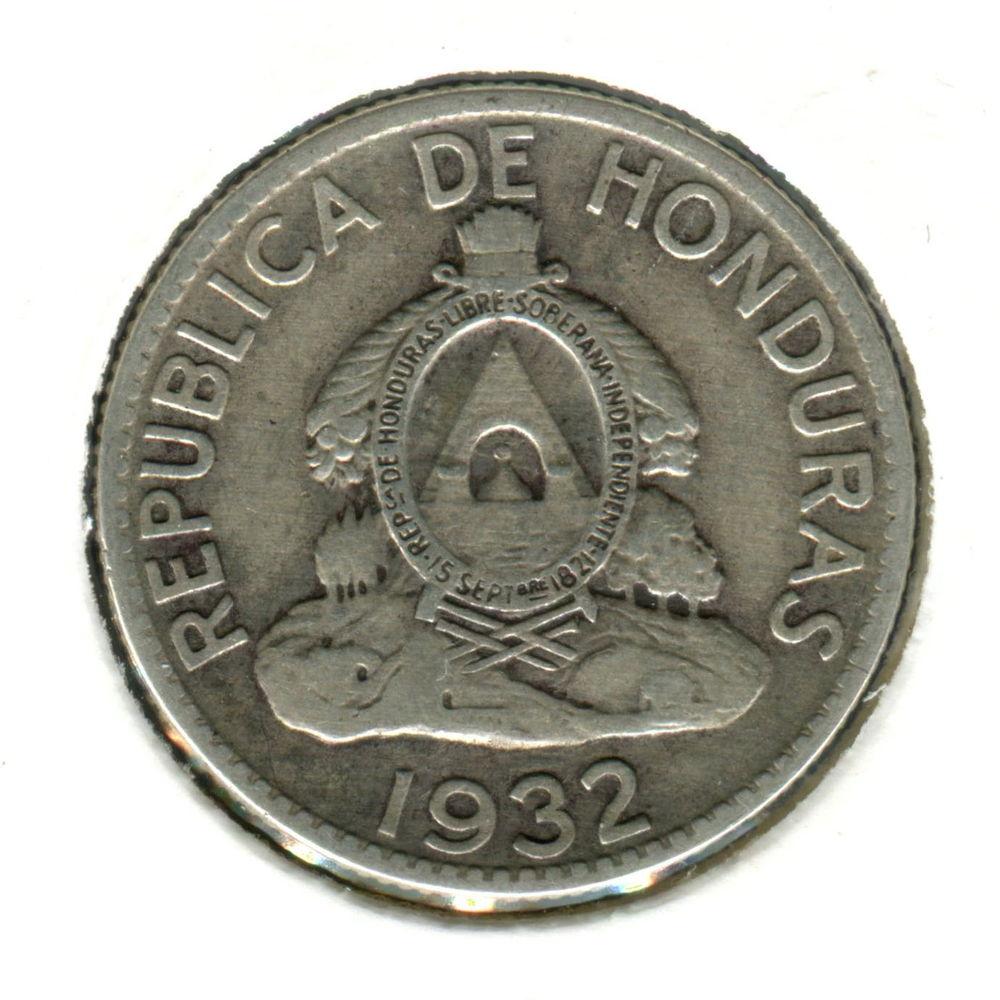 Гондурас 50 сентаво 1932 VF #74 - 1