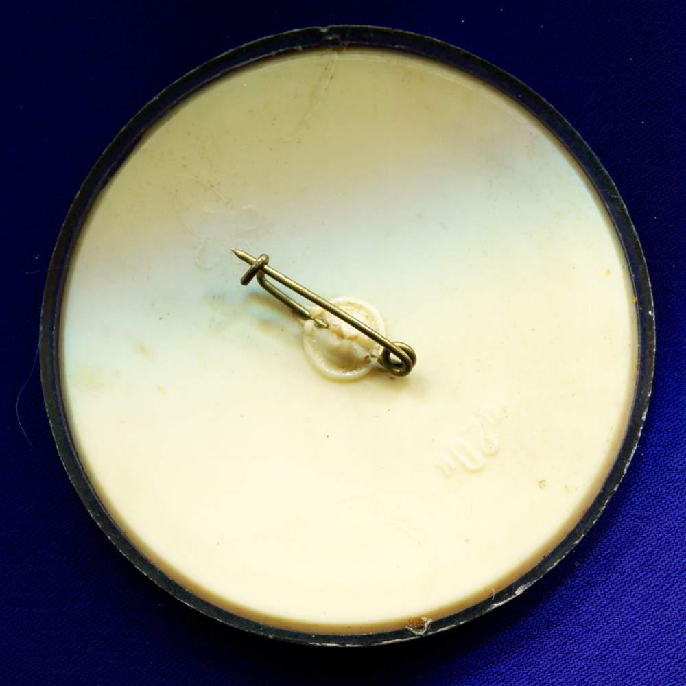 Значок «Благородный олень» Пластмасса Булавка - 1