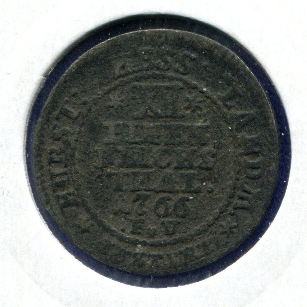 Германия/Гессе-Касель 1/12 талера 1766 VF - 1