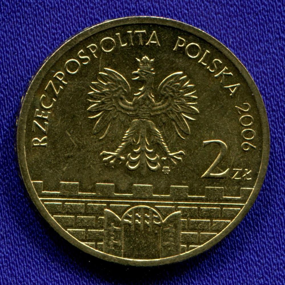 Польша 2 злотых 2006 UNC Новы- Сонч - 1
