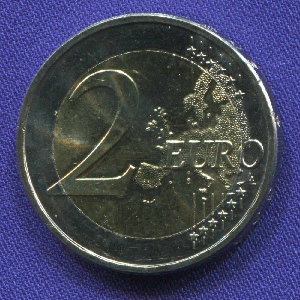 Нидерланды 2 евро 2013 UNC Престолонаследование  - 1