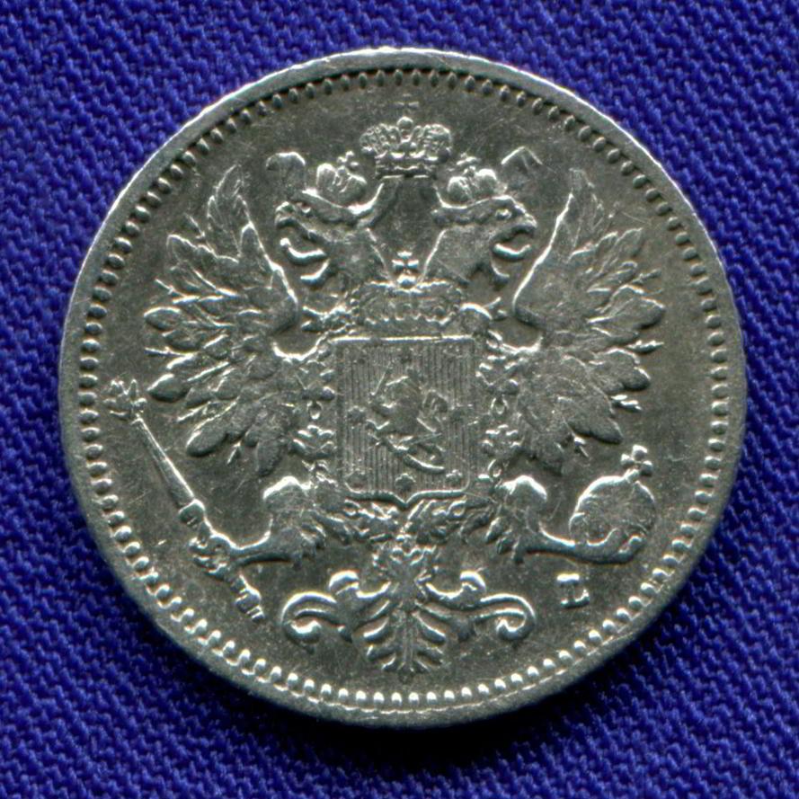 Александр III 25 пенни 1894 L VF+ - 1