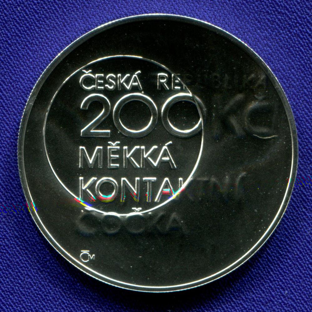 Чехия 200 крон 2012 UNC Отто Вихтерле  - 1