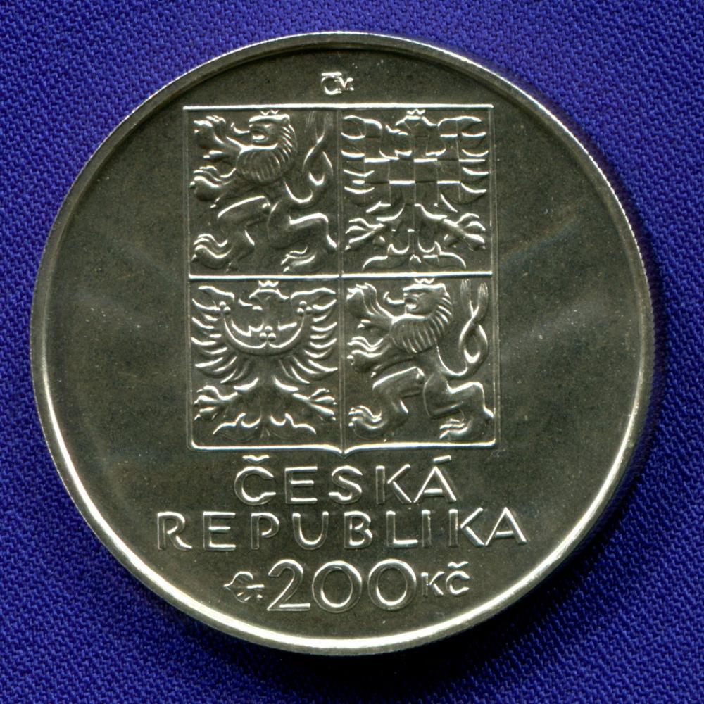 Чехия 200 крон 1999 UNC 100 лет со дня рождения Ондржея Секоры - 1