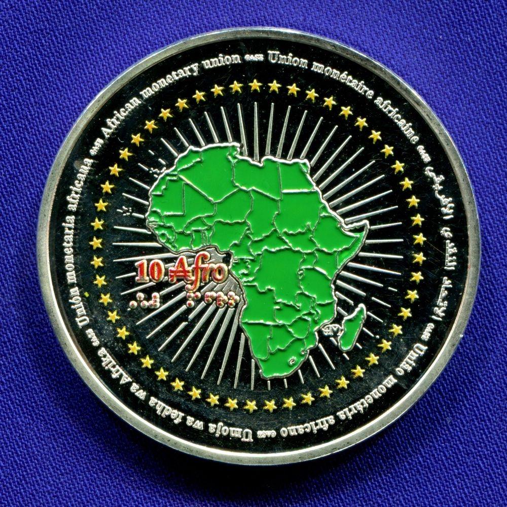 Гвинея 200000 франков 2015 Proof Эбола  - 1