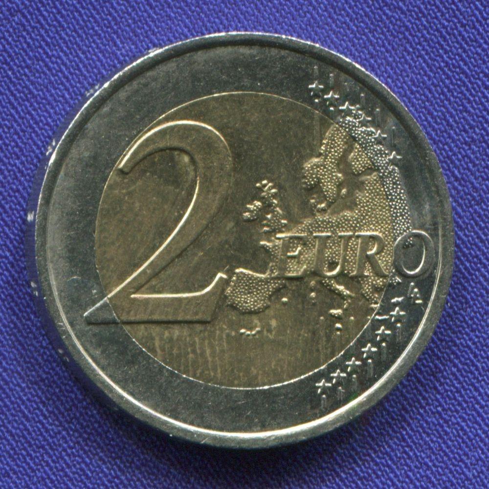 Франция 2 евро 2010 XF 70 лет речи Шарля де Голля  - 1