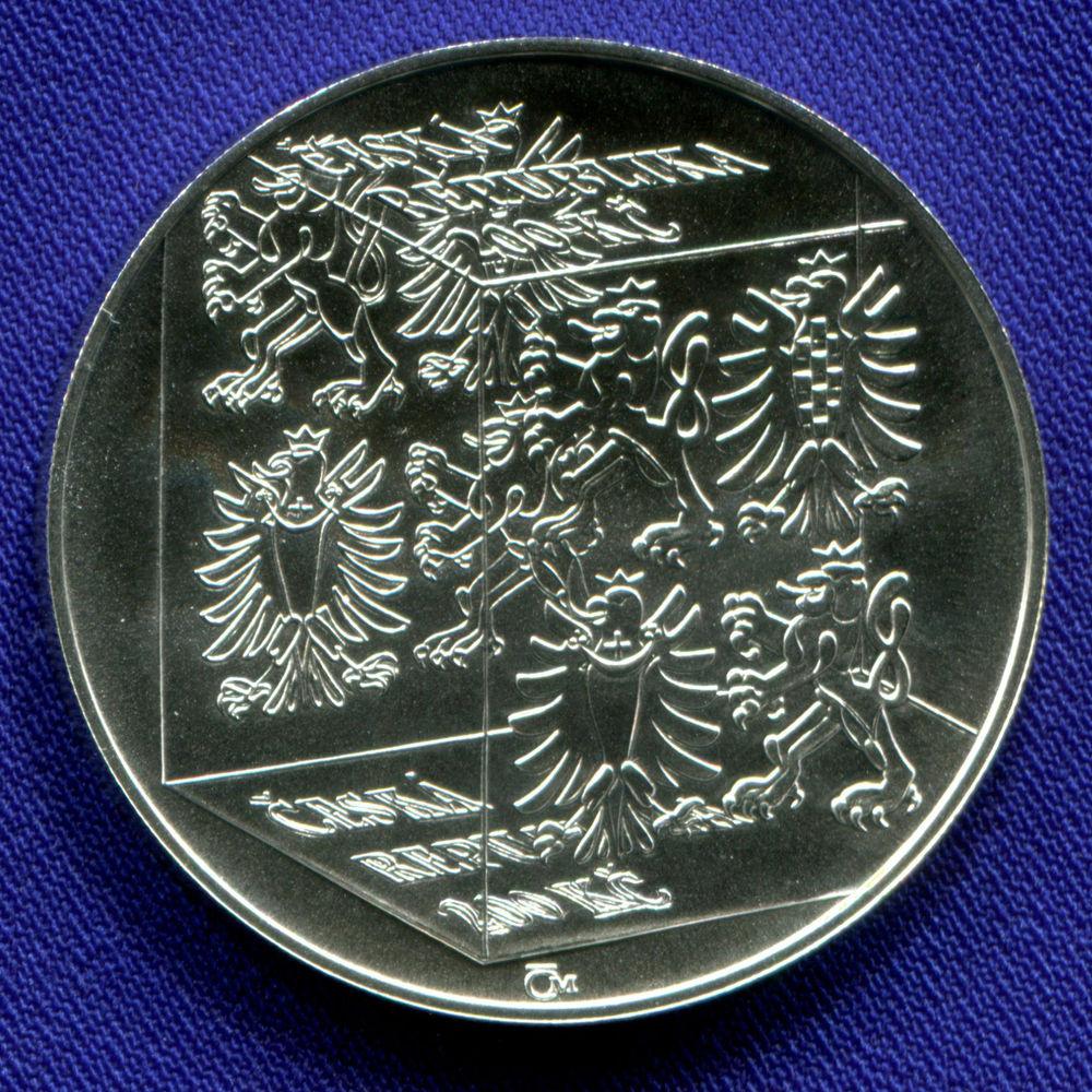 Чехия 200 крон 2006 UNC 150 лет стекольной школе  - 1