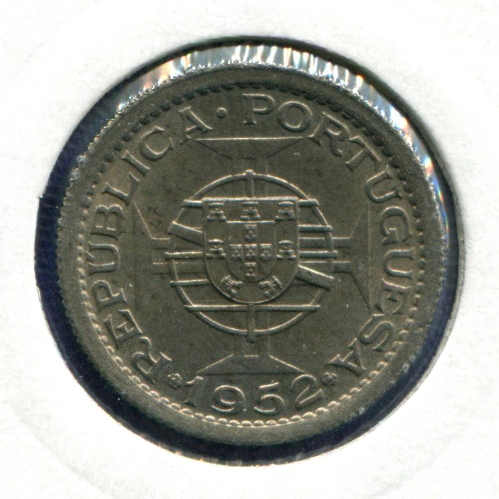 Португальская Гвинея 2,5 эскудо 1952 UNC  - 1