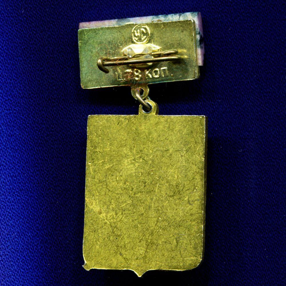 Значок «Гари» Подвес Алюминий Камень  УС Булавка - 1