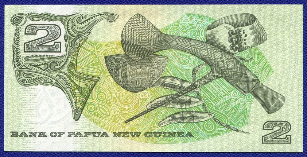 Папуа - Новая Гвинея 2 кина ND (1981) UNC - 1