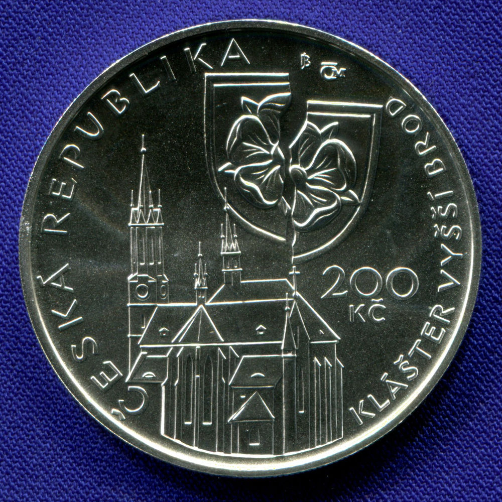 Чехия 200 крон 2011 UNC Петр Вок  - 1