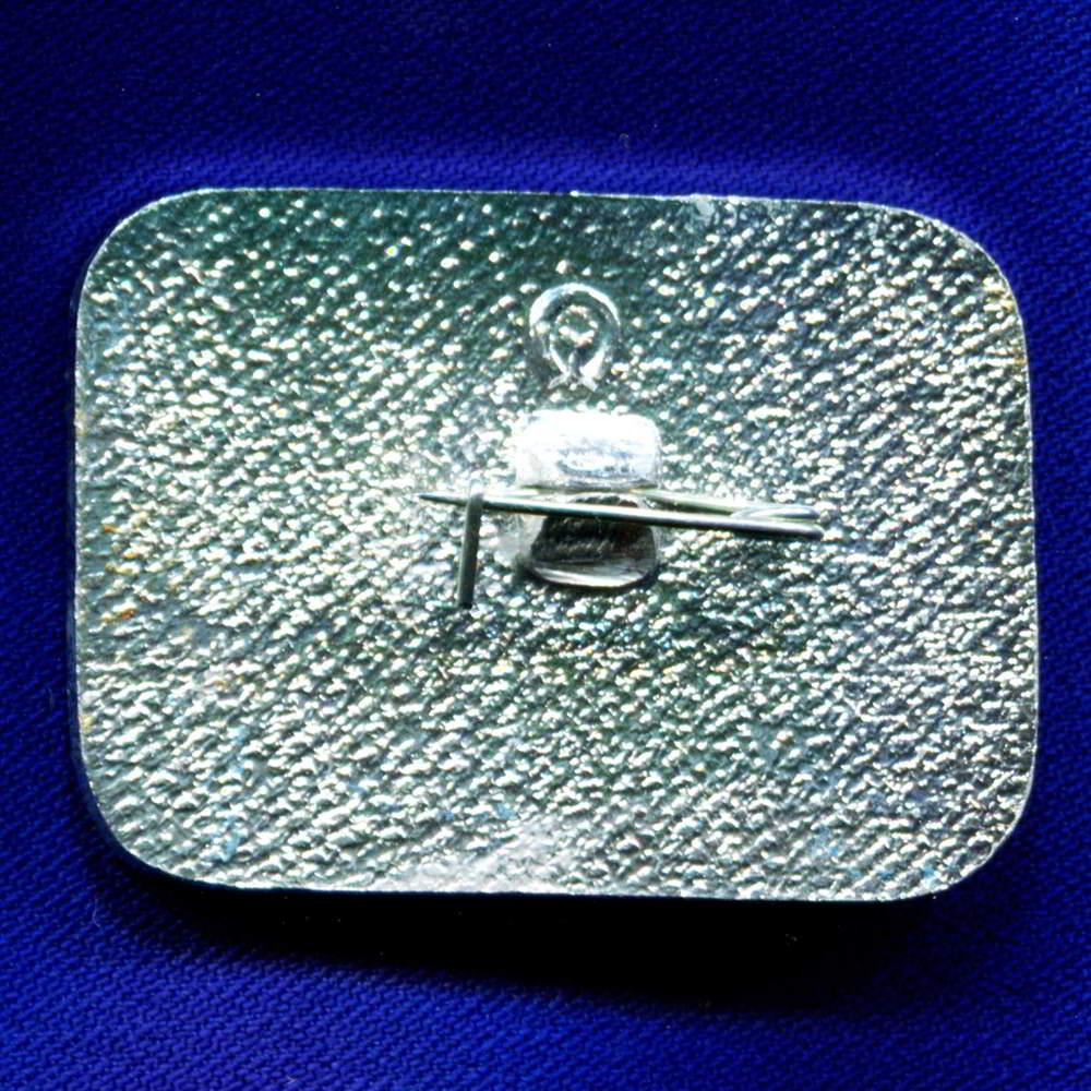 Значок «Снежный барс Охрана окружающей среды » Алюминий  Булавка - 1