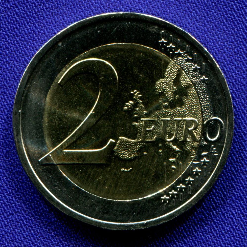 Португалия 2 евро 2018 UNC 250 лет монетному двору  - 1
