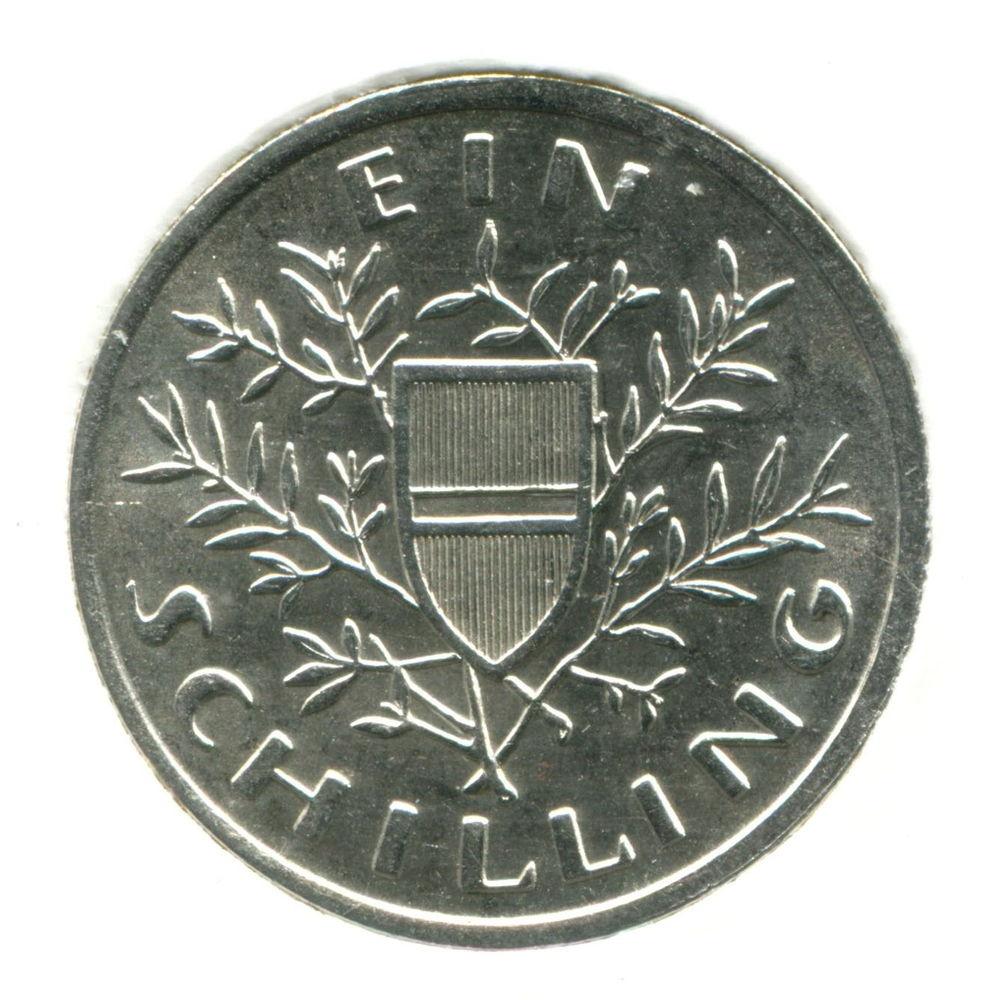 Австрия 1 шиллинг 1925 aUNC #2840 - 1