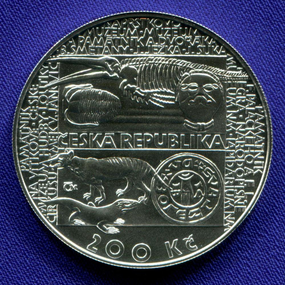 Чехия 200 крон 2018 UNC 200 лет со дня основания Национального музея  - 1