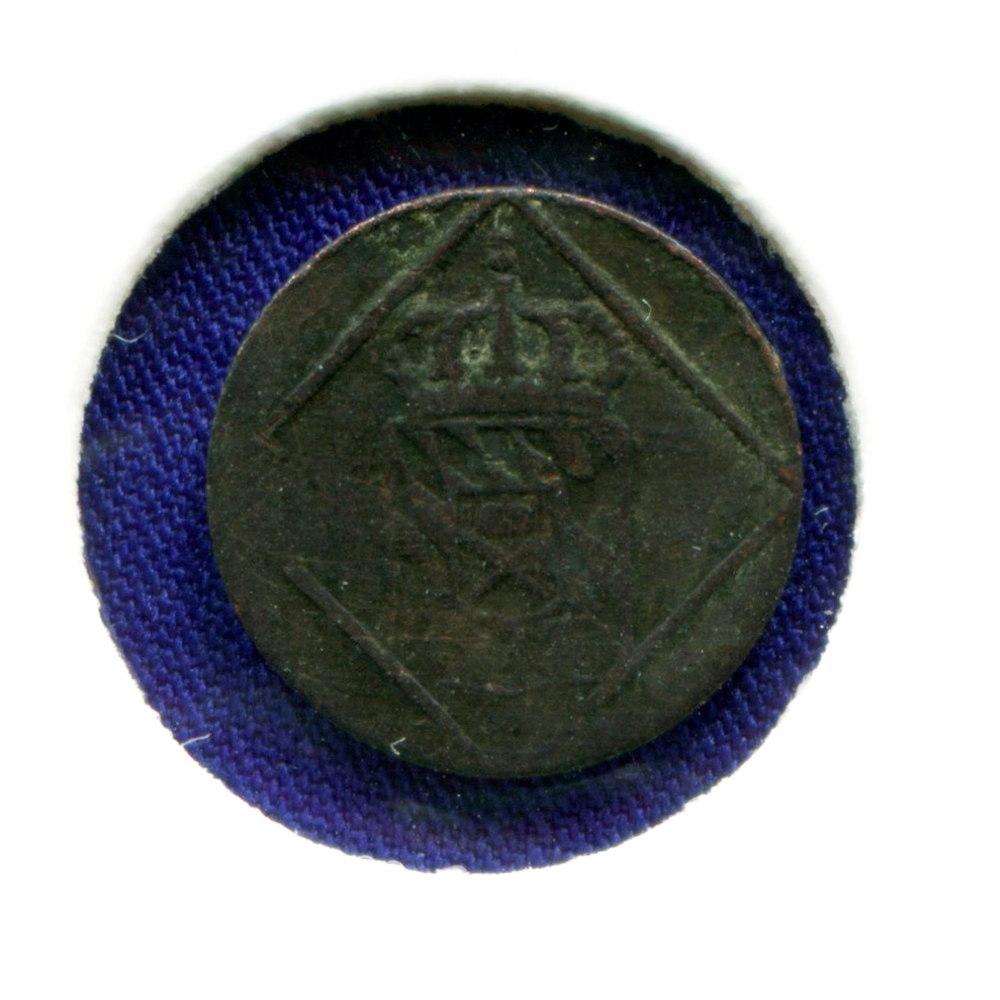 Германия/Бавария 1 геллер 1831 VF  - 1