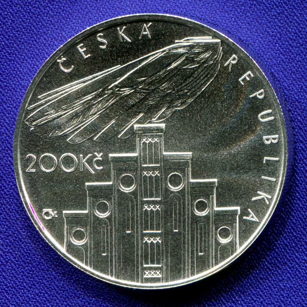 Чехия 200 крон 2008 UNC Йозеф Главка  - 1
