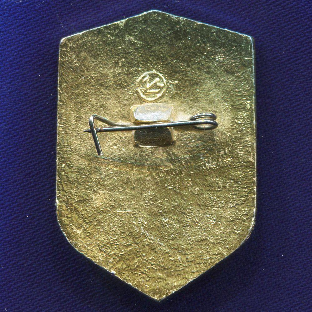 Значок «ВДПО» Алюминий Булавка - 1