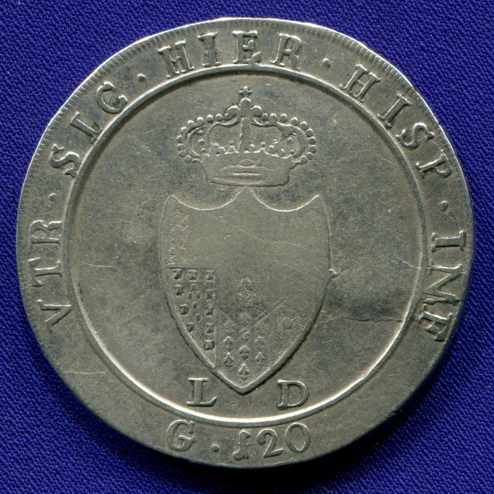 Италия/Неаполь 120 грано 1805 VF  - 1