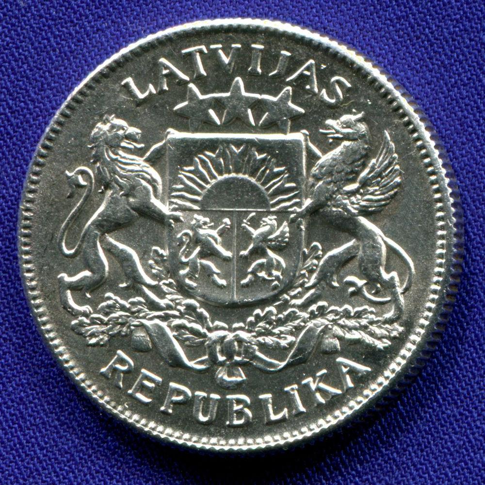 Латвия 2 лата 1925 UNC  - 1