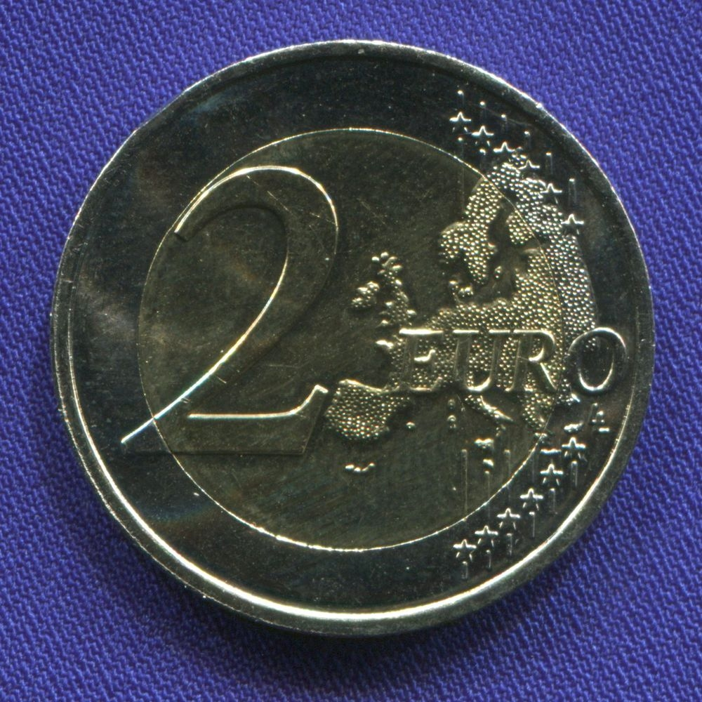 Франция 2 евро 2014 UNC День Д  - 1