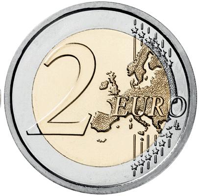 Литва 2 евро 2021 UNC Биосферный заповедник Жувинтас - 1
