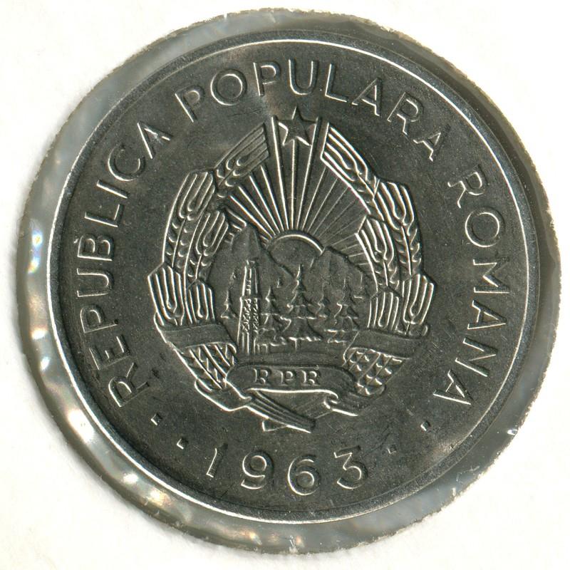Румыния  3 лея 1966  BU - 1