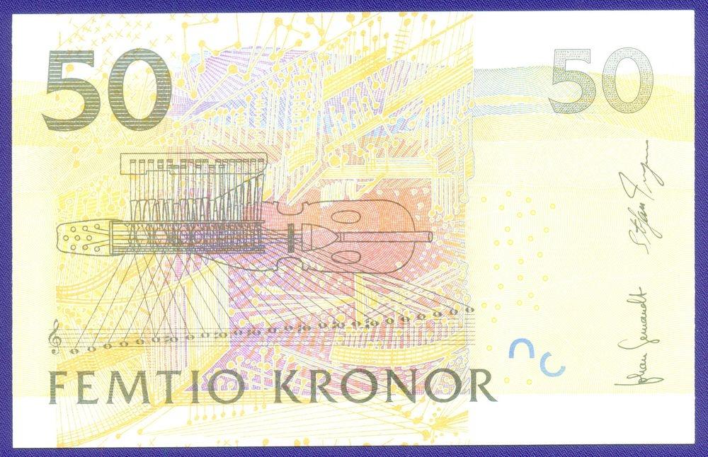 Швеция 50 крон 2011 UNC - 1
