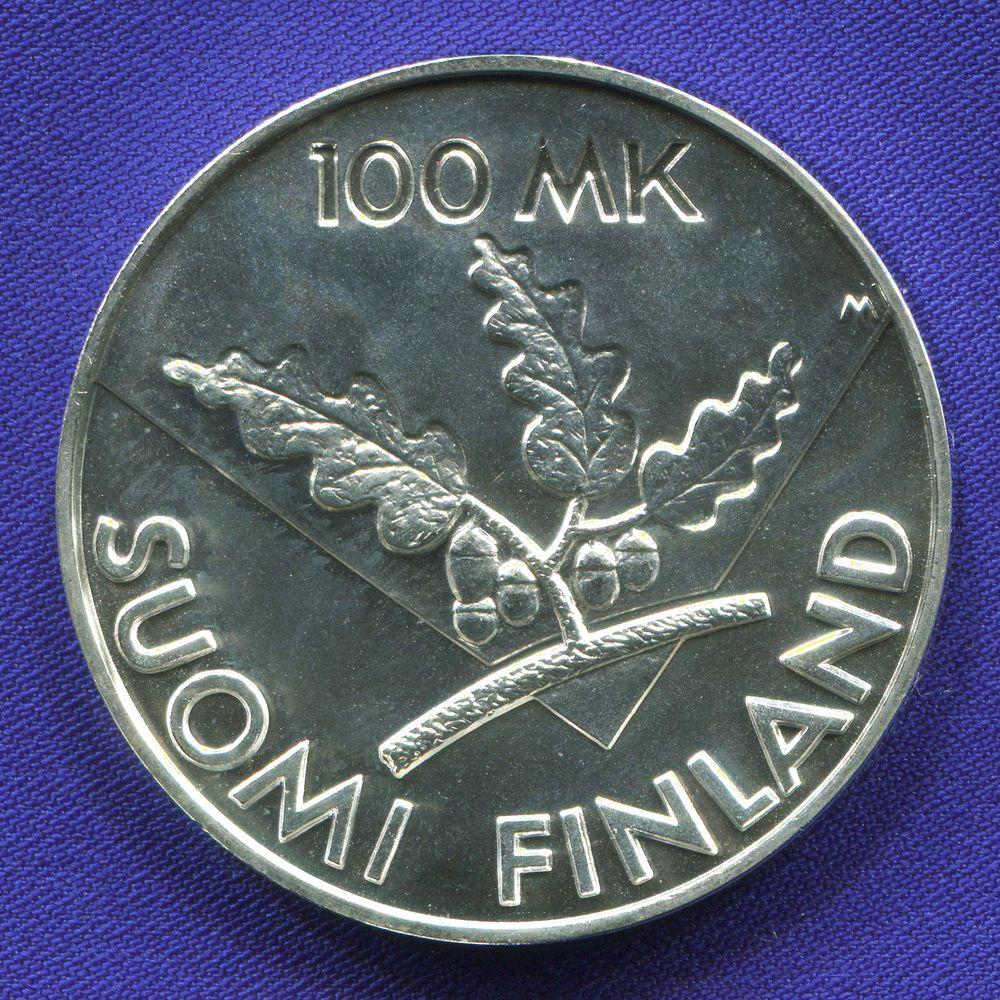 Финляндия 100 марок 1995  - 1