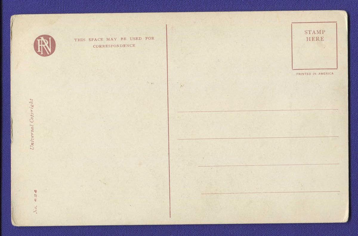 Открытка: By Appointment / Незаполнена / 1917 года выпуска - 1