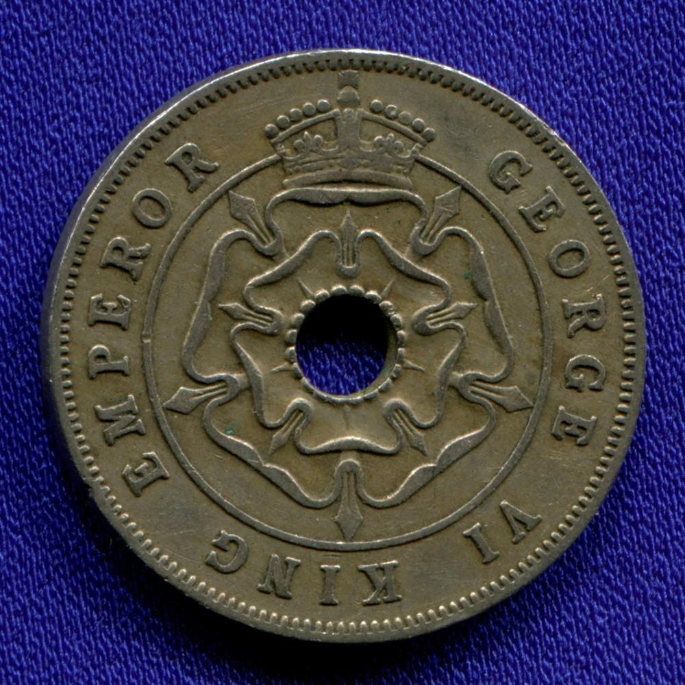 Южная Родезия 1 пенни 1941 VF - 1