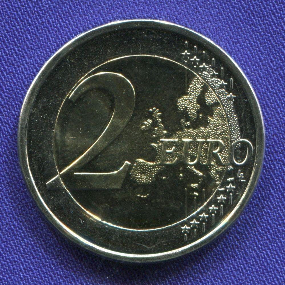 Финляндия 2 евро 2017 UNC 100 лет независимости  - 1