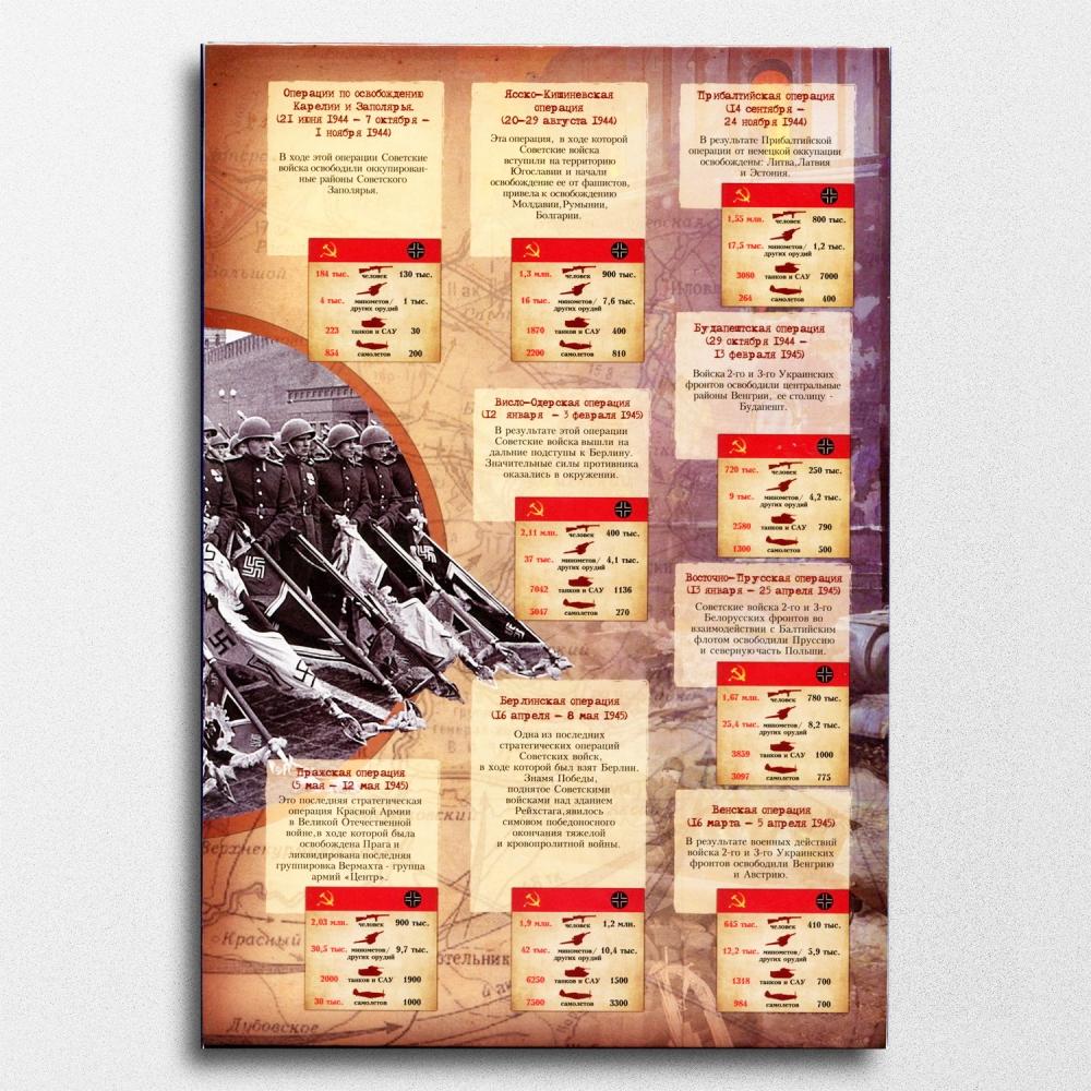 Набор монет посвященных 70-летию Победы в Великой Отечественной войне 1941-1945 гг. - 6