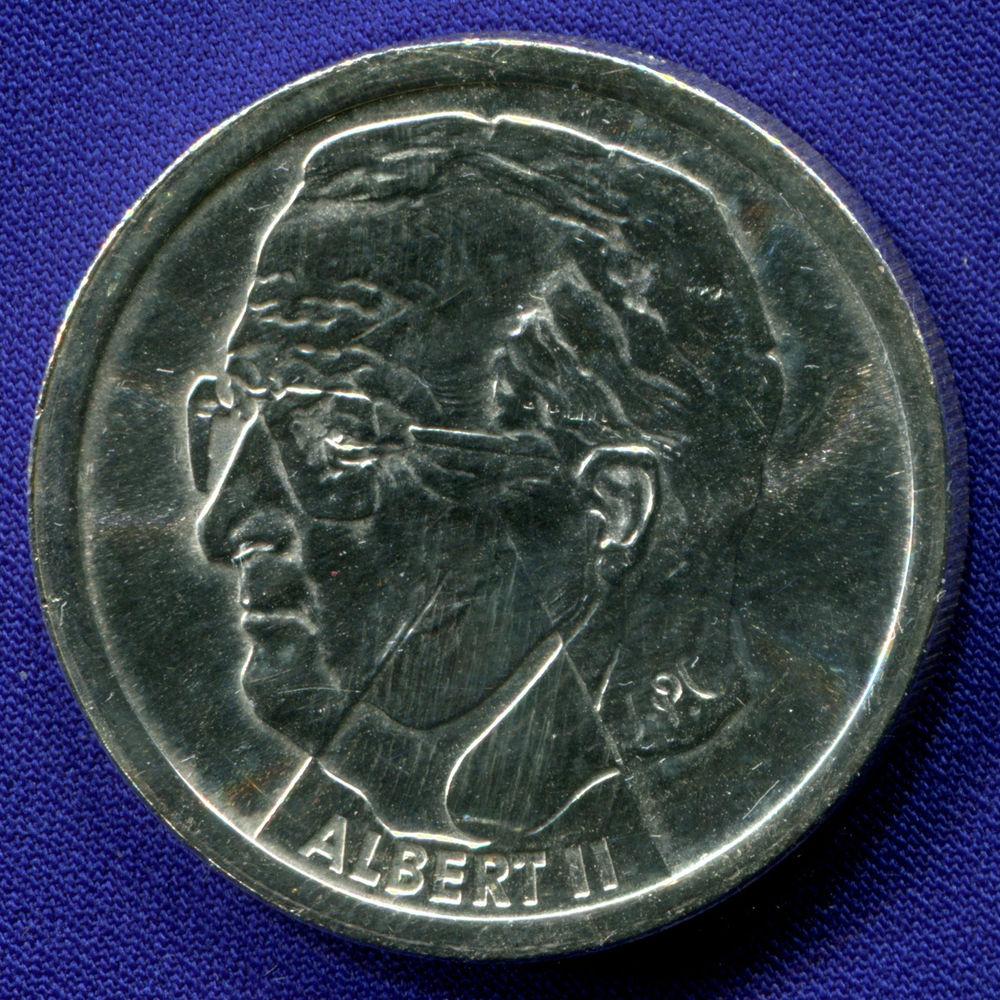Бельгия 200 франков 2000 aUNC Природа  - 1