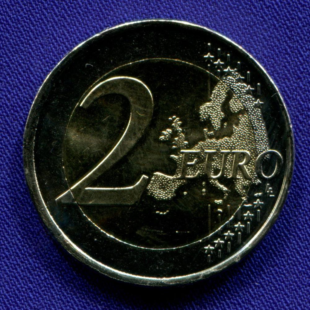 Испания 2 евро 2016 UNC Акведук в Сеговии  - 1