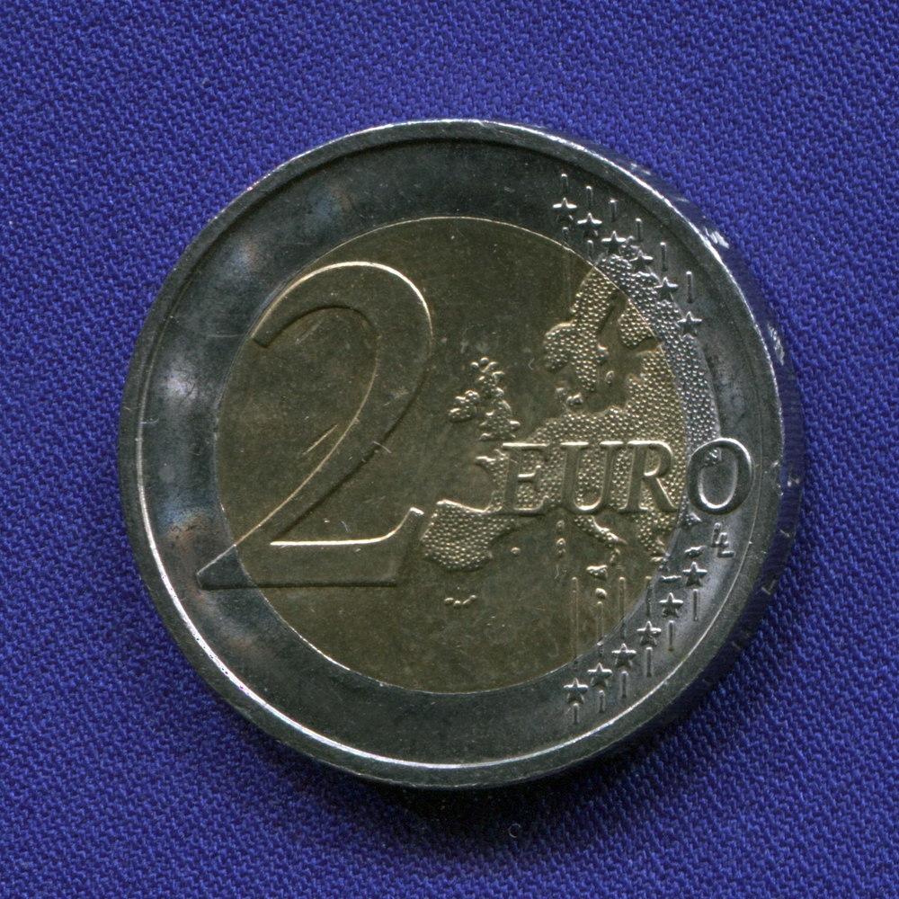 Германия 2 евро 2014 aUNC Нижняя Саксония  - 1