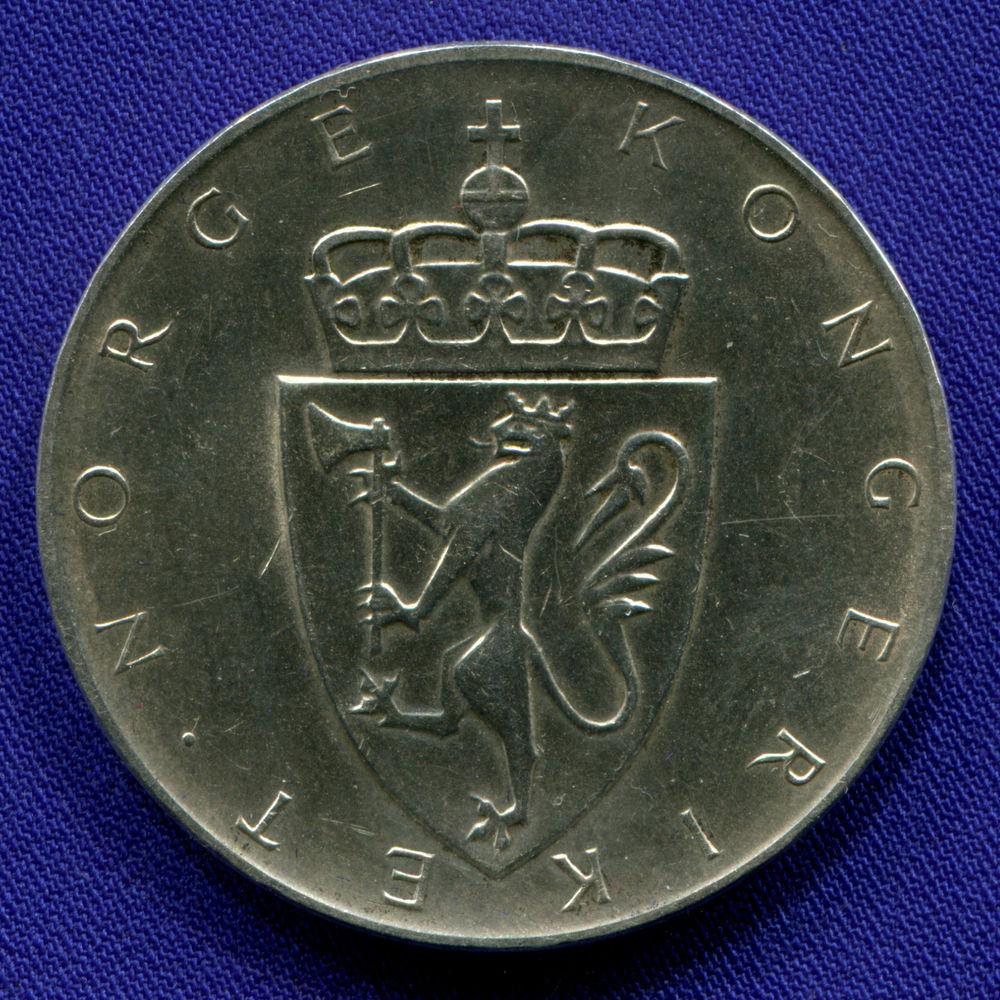 Норвегия 10 крон 1964 XF 150 лет Конституции  - 1