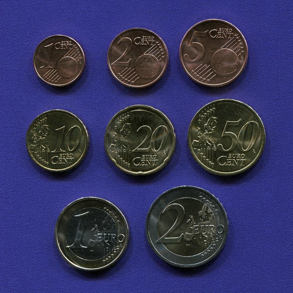Набор монет Австрии EURO 8 монет 2010 UNC - 1