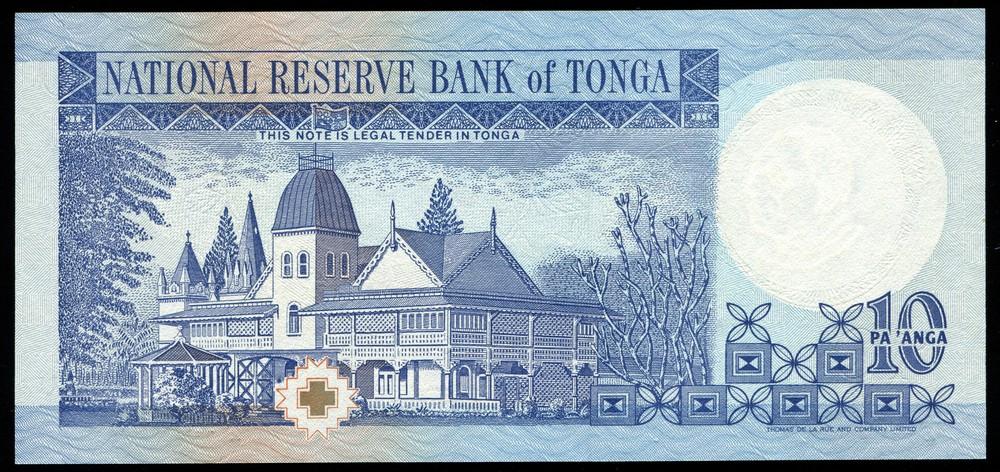 Тонга 10 паанга ND 1995 UNC - 1