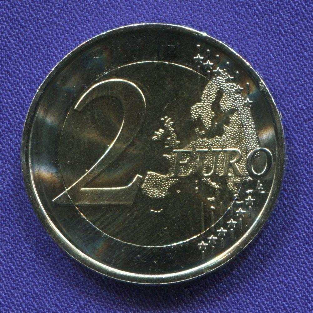 Испания 2 евро 2017 UNC Церковь Санта-Мария-дель-Наранко в Овьедо  - 1