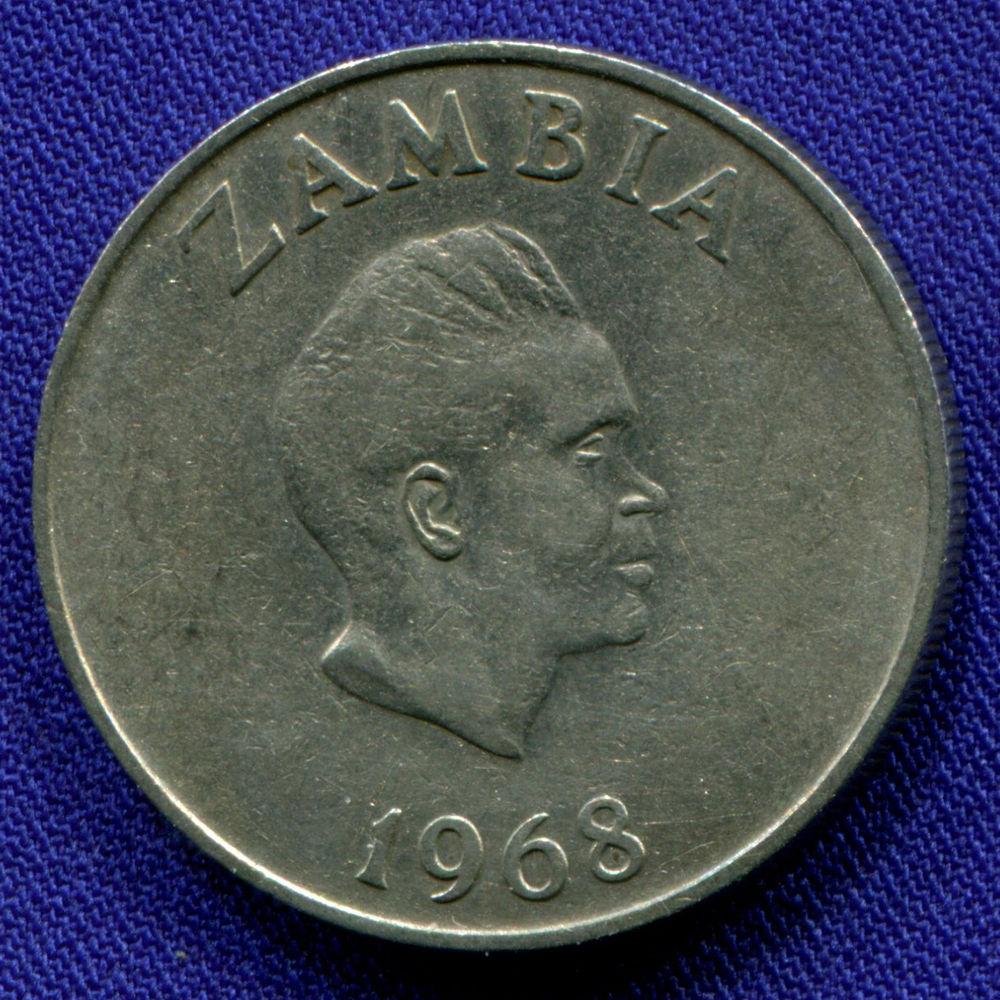 Замбия 10 нгве 1968 VF  - 1