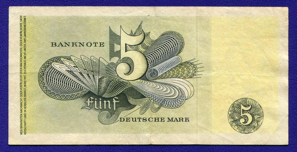 Германия/ФРГ 5 марок 1948 VF Pick 29 - 1