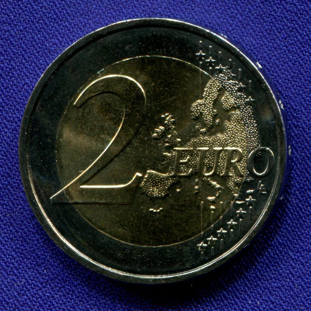Франция 2 евро 2019 UNC Падение Берлинской стены  - 1