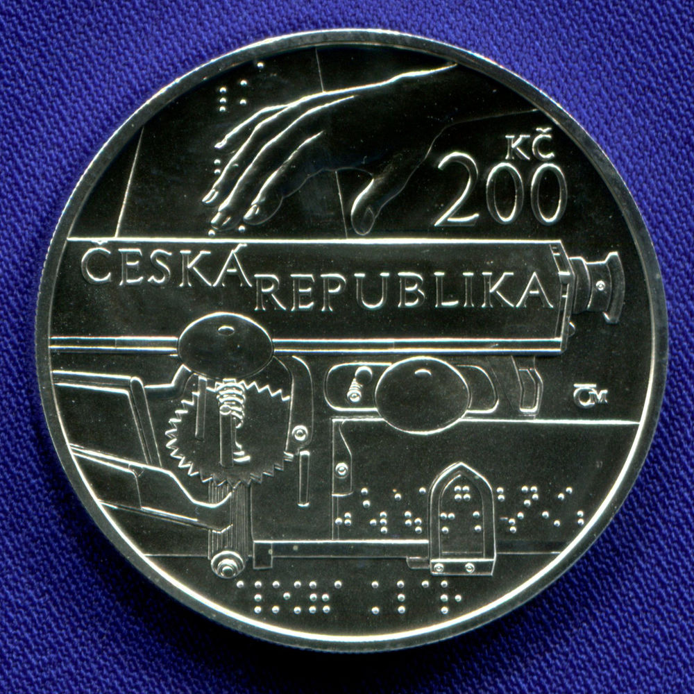 Чехия 200 крон 2013 UNC Алоис Клар  - 1