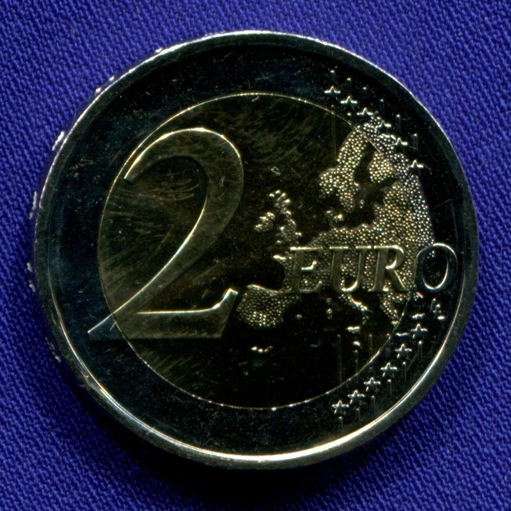 Финляндия 2 евро 2018 UNC Финская сауна  - 1