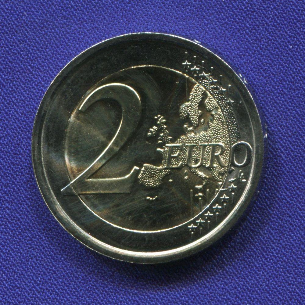 Италия 2 евро 2016 UNC Донателло  - 1