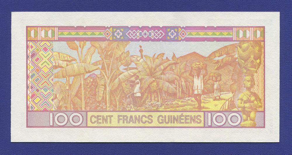 Гвинея 100 франков 2012 UNC - 1